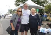 Suzie Woolley, Howard Steel and Mary George.