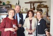 Gina and Lenny Kiczek, of Kiczek, Tomlin & Rachinsky, LLC Attorneys at Law with Long Branch Councilwoman Joy Bastelli and Barbara Hoffman, Hoffman Funeral Home