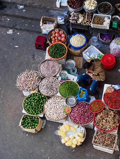 Andrew Cohen's photo, Vendor in Da Lat Market, 2017 Pigment Print