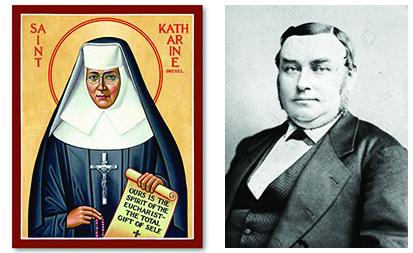 St. Katharine Drexel     George Childs