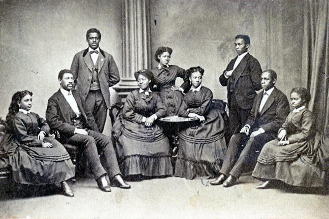 The Fisk Jubilee Singers c. 1872