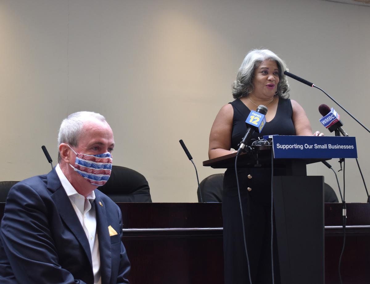 Governor Murphy and Jackeline Mejias-Fuertes