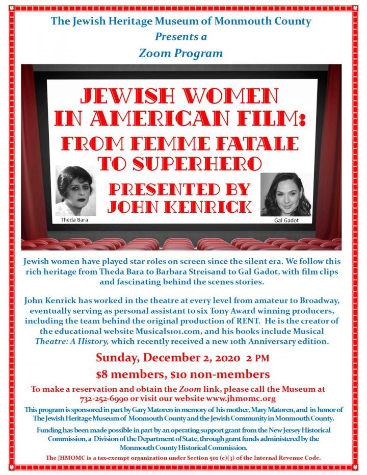 Jewish Women in American  Film
